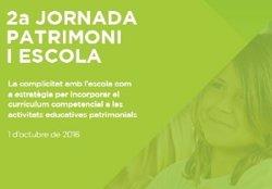 144 professionals del patrimoni i l'educació, a la II Jornada Patrimoni i Escola (GENCAT)