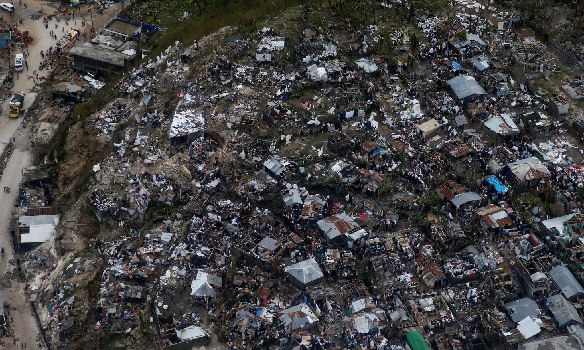 Efectos del huracán 'Matthew' a su paso por Haití