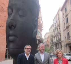 L'escultura 'Carmela' de Jaume Plensa es quedarà a Barcelona (EUROPA PRESS)