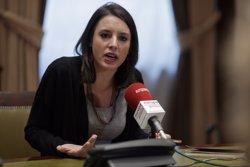 Podem defensa que es convoqui una protesta durant la investidura (EUROPA PRESS)