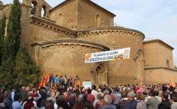Més de 500 persones demanen el compliment de les sentències dels béns de Sixena (COMARCA LOS MONEGROS)