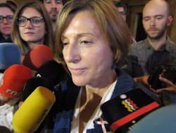 Ustec·Stes mostra el suport a Forcadell i al regidor de Vic Joan Coma (CUP) (EUROPA PRESS)