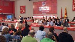 AMP.- El Consell Nacional del PSC ratifica el 'no' a Rajoy i demana mantenir la relació amb PSOE (EUROPA PRESS)