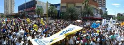 Milers de manifestants secunden la 'Presa de Veneçuela' (MUD)