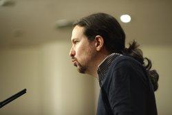 Pablo Iglesias insisteix que dissabte ha de ser al Congrés i no traient protagonisme a la manifestació (EUROPA PRESS)