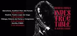 Diego 'El Cigala' porta la gira 'Indestructible' a Barcelona, Madrid, Màlaga i Sevilla (LIVE NATION)