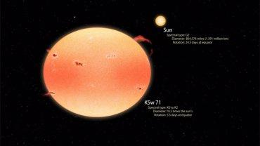 La NASA recolecta un lote de 'estrellas calabaza' (NASA)