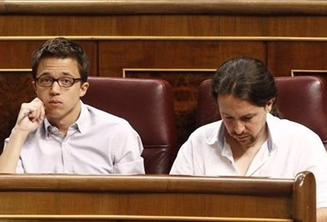 El secretario estatal de Organización de Podemos, Pablo Echenique.