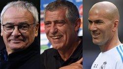 Zidane, Ranieri i Santos, entrenadors aspirants al premi 'The Best' de la FIFA (FIFA.COM)