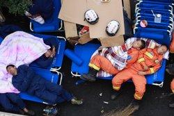 Puja a 32 els morts en l'explosió de gas en una mina del nord de la Xina (REUTERS)