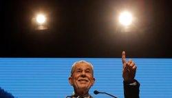 L'independent Van der Bellen guanya les presidencials austríaques (REUTERS)