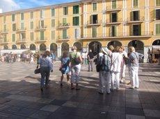 Els turistes estrangers van gastar 68.929 milions a Espanya fins a l'octubre, un 8,4% més (EUROPA PRESS)