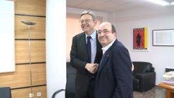 Iceta i Puig advoquen perquè la relació entre el PSOE i el PSC sigui