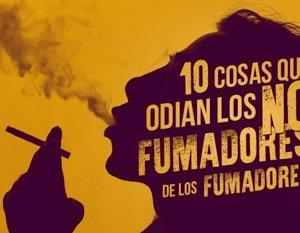 Cosas que odian los no fumadores de los fumadores