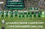 La Conmebol declara al Chapecoense campeón de la Copa Sudamericana