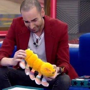 Gran Hermano 17: Miguel llora con un peluche que le regaló su padre antes de su accidente