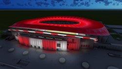 Wanda Metropolità, nom del nou estadi de l'Atlètic de Madrid (CLUB ATLETICO DE MADRID)
