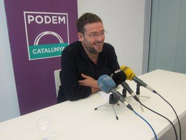 El 69,3% de membres de Podem aposta per fer un referèndum a Catalunya (EUROPA PRESS)