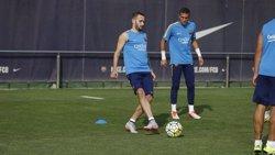 Aleix Vidal, fora de la convocatòria del Barça per enfrontar-se a l'Osasuna (MIGUEL RUIZ-FCB)