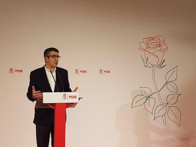 """Patxi López vol """"reconstruir"""" el PSOE des d'una """"esquerra exigent"""" i autònoma i unir-lo (EUROPA PRESS)"""