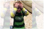 """""""¡Pato! ¡Me ha tocado Pato!"""", la genial reacción de un niño al abrir un cromo (TWITTER)"""