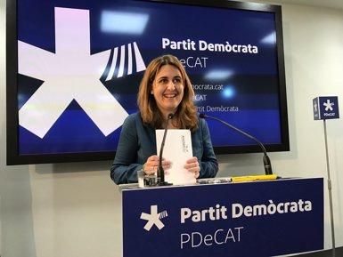 """Pascal (PDeCAT) demana centrar-se a """"fer partit i el referèndum"""" i no en candidats (EUROPA PRESS)"""