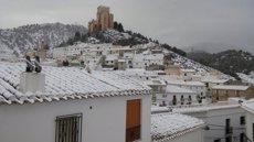 Una desena de carreteres tallades per gel i neu a Almeria, Cadis, Granada i Sevilla (EUROPA PRESS)