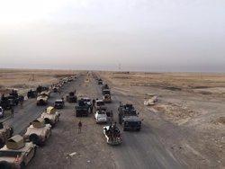 Les forces de l'Iraq arrabaten a Estat Islàmic dues localitats i una central elèctrica a l'oest de Mossul (MINISTERIO DE DEFENSA IRAK)