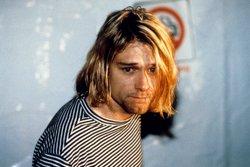 Escucha la pista de voz aislada (sin música) de Kurt Cobain cantando Smells like teen spirit (STARFILE/ALL ACTION)