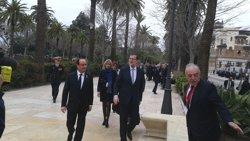 Hollande convida Rajoy a una cimera amb Merkel i Gentiloni el 6 de març a Versalles sobre el futur de la UE (EUROPA PRESS)