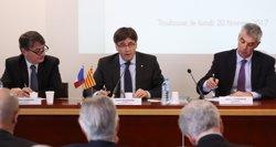 Puigdemont assegura a França que un Estat català