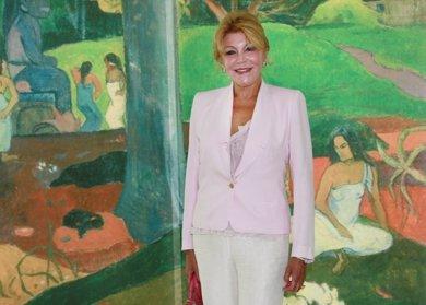 "Tita Cervera: ""Deseo que mis cuadros se queden en España"""