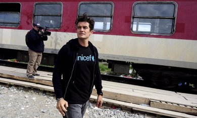 Orlando Bloom, volcado en su faceta como embajador de UNICEF