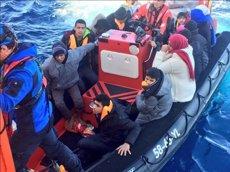Gairebé 15.000 immigrants han arribat a Europa i 366 han mort al Mediterrani el 2017 (TWITTER/@MSF_SEA)
