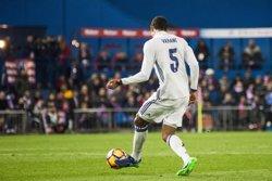 Varane estarà com a mínim un mes de baixa per una lesió muscular (EUROPA PRESS)