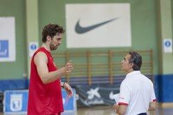 Scariolo inicia una gira per EUA per visitar els 10 espanyols NBA (ALBERTO NEVADO)