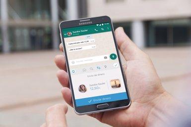 ImaginBank llança un servei per enviar diners des d'apps com WhatsApp i Facebook Messenger (CAIXABANK)