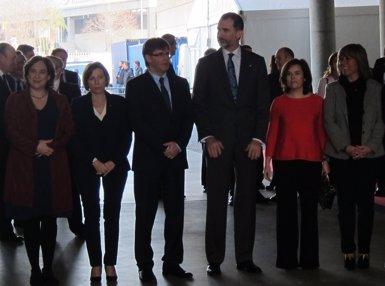 El Rei inaugura el congrés de mòbils, que preveu tornar a batre rècords (EUROPA PRESS)