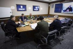 Els separatistes prorussos llancen un ultimàtum a Kíev perquè aixequi el bloqueig ferroviari (PRESIDENCIA DE UCRANIA)