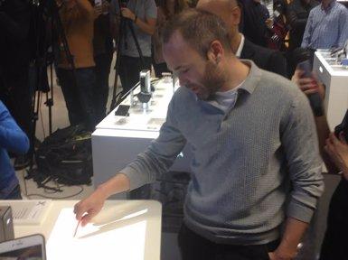 "Iniesta: ""Estem al mil per mil amb Luis Enrique"" (EUROPA PRESS)"