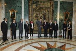 El Rei rep el comitè executiu del CZFB en el centenari de l'entitat (CZFB)