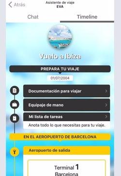 Vueling llança un assistent virtual de viatge en el mòbil (VUELING)