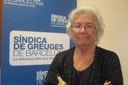 La Síndica de Barcelona rebutja que es necessiti el mòbil per usar les àrees de càrrega i descàrrega (EUROPA PRESS)