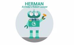 Herman, el robot advocat que ajuda a reclamar indemnitzacions per retards i cancel·lacions de vols (AIRHELP)