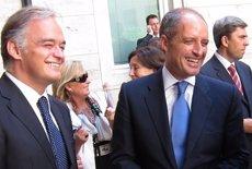 Francisco Camps i González Pons, citats en la comissió d'investigació sobre Ciegsa a les Corts Valencianes (EUROPA PRESS)