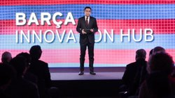 El FC Barcelona pretén ser líder en coneixement i tecnologia amb el projecte 'Barça Innovation Hub' (FCB)