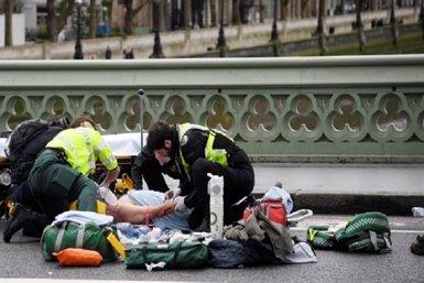 La Policia britànica confirma set detinguts i sis escorcolls relacionats amb l'atemptat de Londres (EUROPAPRESS)