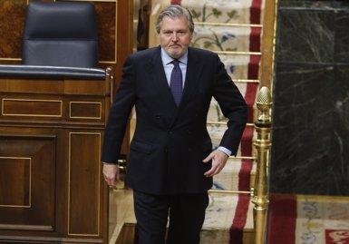 """Méndez de Vigo diu que la Generalitat """"ho està fent tot malament, sobretot perquè no es respecten a ells mateixos"""" (EUROPA PRESS)"""