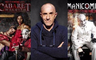 Suso Silva, el verdadero creador del Circo de los Horrores... Lucifer, Nosferatu