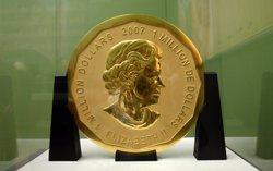 Robada la moneda d'or més gran del món d'un museu de Berlín (MARCEL METTELSIEFEN/DPA)